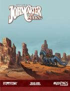 John Carter of Mars: Legacy Map & Travel Guide