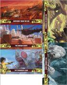 John Carter of Mars: Landscape and Location Card Deck