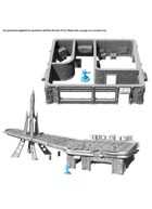 Fallout: Wasteland Warfare - Terrain Expansion: Preserved Red Rocket - STL