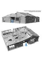 Fallout: Wasteland Warfare - Terrain Expansion: Sanctuary Hill House - STL