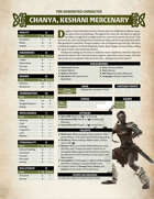 Conan Free RPG Day Extra Characters