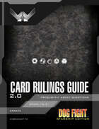 Dog Fight: Starship Edition Card Rulings