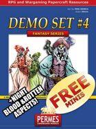 FREE Demo Set 4 - Undead Pirate Queen