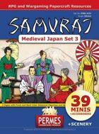 SAMURAI - Daimyo's Court - Medieval Japan Set 3