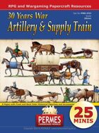 Artillery and Supply Train - 30 Years War