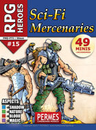 SciFi Mercenaries - RPG HEROES Set 15