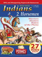 Wild West - Indians 2 Horsemen