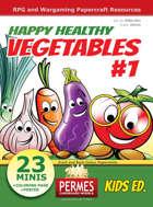 Happy Healthy Funny VEGETABLES #1