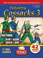 Cossacks #3 Steppen Infantry FACTIONS