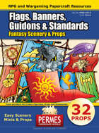 Fantasy Props: Flags, Banners, Guidons, Standards