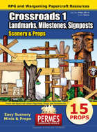 Crossroads - RPG Props: Landmarks, Milestones, Signposts