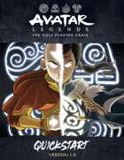 Avatar Legends: The RPG Quickstart