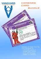 VANGUARD RPG - Combined Cards [BUNDLE]