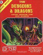 D&D Basic Set Rulebook (B/X ed.) (Basic)