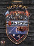 Player's Secrets of Medoere (2e)