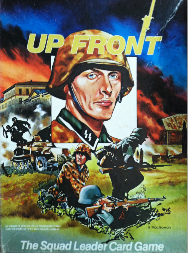 Up Front Infantry Personality Cards (2nd Edition)