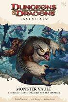Dungeons & Dragons Essentials: Monster Vault (4e)