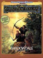 FRE1 Shadowdale (1e/2e)