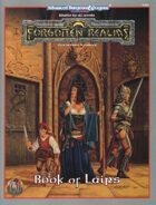 Book of Lairs [Forgotten Realms] (2e)