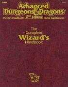 PHBR4 The Complete Wizard's Handbook (2e)