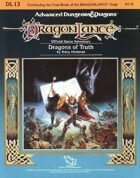 DL13 Dragons of Truth (1e)