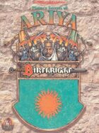 Birthright: Player's Secrets of Ariya (2e)