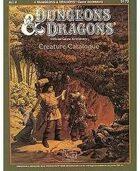AC9: D&D Creature Catalogue (Basic)