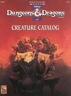 DMR2 Creature Catalog (Basic)