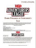 DDEX1-11 Dark Pyramid of Sorcerer's Isle (5e)