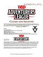 DDEX2-10 Cloaks and Shadows (5e)