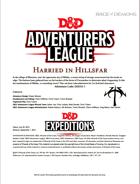 DDEX3-01 Harried in Hillsfar (5e)