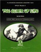 RPGA4 - The Elixir of Life