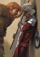 Pregen Characters: Human Barbarian (5e)