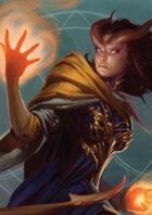 Pregen Characters: Tiefling Warlock (5e)