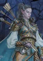 Pregen Characters: Wood Elf Ranger (5e)