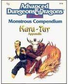 MC6 Monstrous Compendium Kara-Tur Appendix (2e)