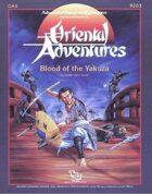 OA4 Blood of the Yakuza (1e)