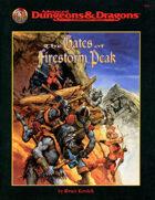 The Gates of Firestorm Peak (2e)