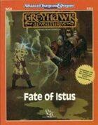 WG8 Fate of Istus (1e/2e)