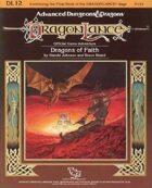 DL12 Dragons of Faith (1e)