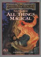 Volo's Guide to All Things Magical (2e)