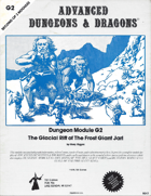 G2 The Glacial Rift of the Frost Giant Jarl (1e)