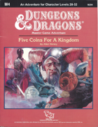 M4 Five Coins For A Kingdom (Basic)
