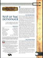 Test of the Demonweb (3.0)