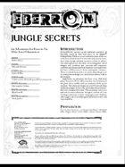 Jungle Secrets (3.5)