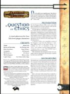 A Question of Ethics (3.0)