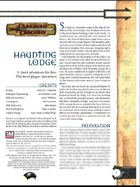 Haunting Lodge (3.0)