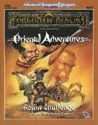 OA6 Ronin Challenge (2e)