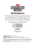 DDAL05-18 The Mysterious Isle (5e)