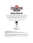DDAL07-09 Unusual Opposition (5e)